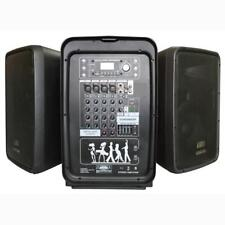 Pyle PPHP898MX Bluetooth PA Speaker & Amplifier Mixer System, 8-Ch. Audio Mixer