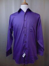 Geoffrey Beene Regular Fit Men's Dress Shirt Light Purple 15, 32/33 Medium #78