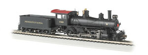 Bachmann 51401 HO Pennsylvania Baldwin 4-6-0 Steam Loco w/DCC & Sound #7080