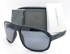 Emporio Armani sunglasses EA4130 504281 63mm Matte Black Polarized Grey GENUINE