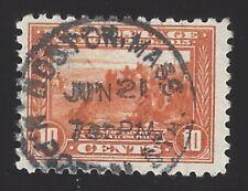 US #404 1914-15 Orange Wmk 190 Perf 10 Used F-VF Scv $70