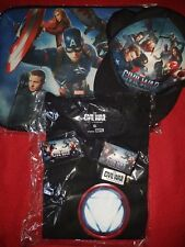 MARVEL Captain America Civil War Merch Paket SAMMLERSTÜCKE / SELTEN