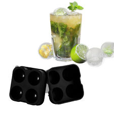 Whiskey Ice Ball Maker Mold Silicone Cocktails Ice Tray Cube Round Spheres Mould