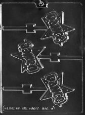 K161 Dance Lolly Chocolate Candy Soap Mold with Instructions