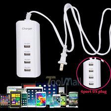 5V 4-Ports USB Wall Charger Power Adapter Multi-function Charger for Phone Table