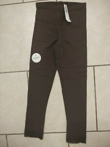 NWT Old Navy Girls Brown Leggings Size 6-7 S