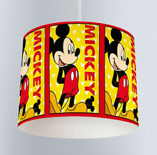 Mickey Mouse (146) Boys Bedroom Drum Lampshade Light Shade