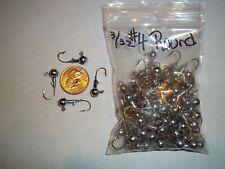 3/32oz #4 ROUND HEAD LEAD HEAD JIG EAGLE CLAW - GOLD 100ct