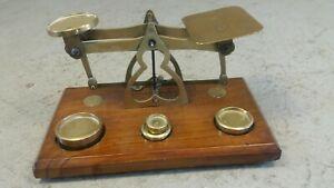 Old Postal Scales