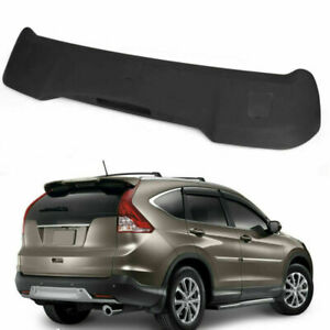 Factory Style Rear Roof ABS Spoiler Wing Matte BLK Fit For 12-16 Honda CRV CR-V