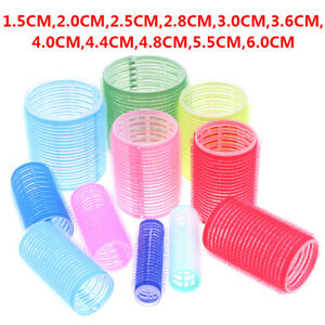 Hair Rollers 6Pcs Curlers Self Grip Holding Rollers Hairdressing Curlers^