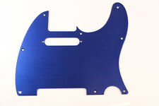 Brushed Blue Anodized Aluminum Tele Pickguard Fits Fender Telecaster -USA Made
