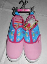 SHOPKINS SPK PINK, BLUE W/HEARTS NO LACE SNEAKERS SHOES GIRLS - 3 - NWT!