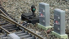 Trackside Junction Box (1) Miniature 1/24 Scale G Scale Diorama Accessory Item