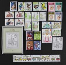 Gr. Britain 1980 Complete Commemorative Year Set Collection 34 stamps Mint Nh