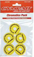 CYMPAD Chromatics Set (5 pieces) 40/15mm Yellow for Crash Cymbals CS15/5Y