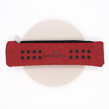 Faber Castell Grip Pen Holder With Elastic Band Red