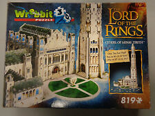 The Lord of The Rings Citadel of Minas Tirith 3D Puzzle Wrebbit LOTR 819 Pieces