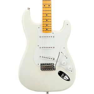 Fender Custom Shop Jimmie Vaughan Signature Stratocaster Guitar Aged Olympic Wht
