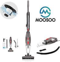 MOOSOO LT450 5m Corded Bagless Stick Vacuum Cleaner 15KPa Home Pet Hair 0.8L US