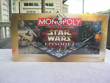 Monopoly Star Wars Episode 1 Collectors Edition 1999 New & Factory Sealed!