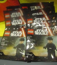 Lot of TEN(10) LEGO Star Wars FIRST ORDER GENERAL Minifigure 5004406 Party Favor
