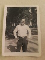 Original Vintage Photo Handsome Young Man Smiling Cute Gay Guy