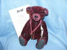 Steiff Teddy Bear Basco-Red Tipped-EAN 034343 édition limitée