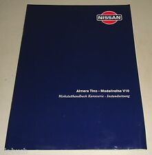 Werkstatthandbuch Karosserieinstandsetzung Nissan Almera Tino V10 Stand 2000