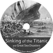 Sinking of the Titanic and Great Sea Disasters L. Marshall Audiobook 1 MP3 CD