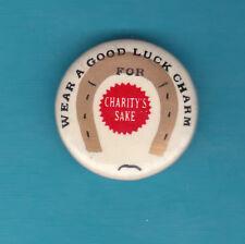 WW1 Wear a Good Luck Charm for Charities Sake Badge Nice