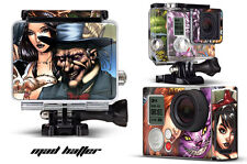 Skin Stickers for GoPro Hero 3+ Camera & Case Decal HERO3+ Go Pro MAD HATTER