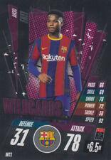 Champions League 20/21 2020 2021 WC1 - Ansu Fati - Wildcards