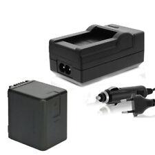 Akku + Ladegerät für Panasonic HC-W850EB, WX878, WX979 - infochip ACCU 3560mAh