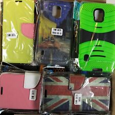 Wholesale Bulk Lot of 60 Samsung Galaxy S5 Active Mixed Phone Cases Various