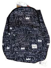 Herschel Supply Co. Jean-Michel Basquiat Classic Black Backpack Unisex NEW! NWT