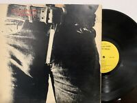 The Rolling Stones - Sticky Fingers LP 1971Rolling Stones Records COC 59100 VG+