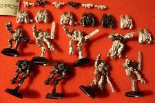 Games Workshop Warhammer 40k Chaos Space Marines Raptor Raptors Squad Metal OOP