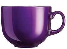 Flashy Colors 0,5l JUMBOBECHER lila Kaffeebecher Teebecher 500ml Luminarc Tasse