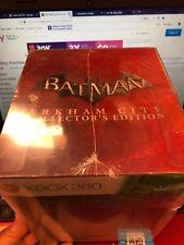 Batman: Arkham City Collector's Edition (Xbox 360 2011)BRAND NEW Figurine SEALED