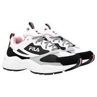 Fila Ladies' Recollector Sneaker White/Black/Pink Size 8.5