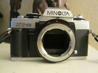 Minolta XG-M 35mm SLR Film Camera Body Only