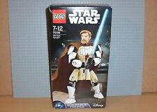 LEGO STAR WARS BUILDABLE FIGURES 75109 - OBI-WAN KENOBI - NEW, BOXED AND SEALED