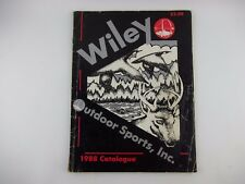 1988 Wiley Outdoor Sports Huntsville Al Catalog, Ammo Gun Firearm Stock Brochure