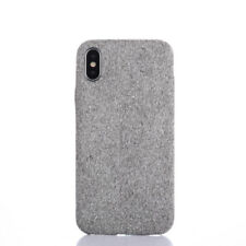 Warm Fuzzy Fashion Soft Cloth Skin Back Cover Case For iPhone 6 6S 7 8 Plus X XS