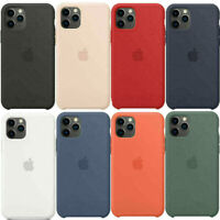 for Apple iPhone 11 pro max XR XS MAX officiall OEM Silicone Case Cover