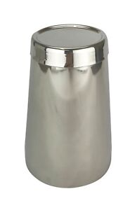 Silver 18oz Boston Cocktail Shaker Tin Weighted