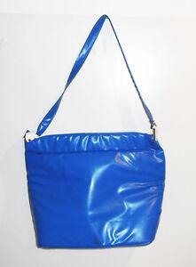 DDR Kühltasche Isolier Tasche Strandtasche retro bag 70er Ära blue Vintage !