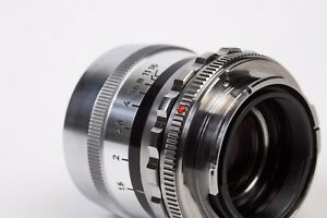 Adapter For Voigtlander Prominent NOKTON/URTON 50mm lens to Leica M LM Camera