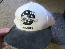 VINTAGE PLANET HOLLYWOOD ORLANDO 1995 BASEBALL CAP NEW-PROMO ITEM EX.COND.